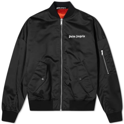Palm Angels Oversized Logo Bomber
