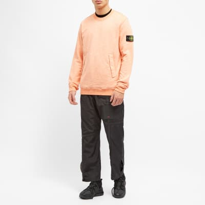 Stone Island Mouline' Fleece Crew Sweat