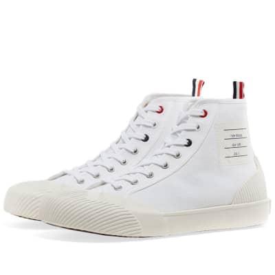 Thom Browne Hi-Top Canvas Sneaker