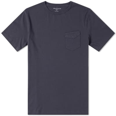 3416457a5c8bb Officine Generale Garment Dyed Pocket Tee ...