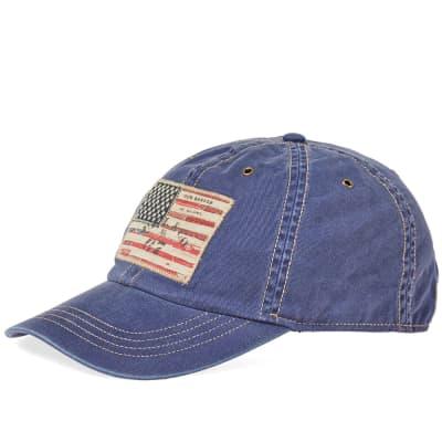 Polo Ralph Lauren Icon USA Flag Cap ... d9f7a741ad5d
