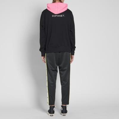 SOPHNET. Half Zip Pullover Hoody