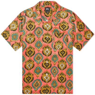 e1cc314ad7f Stussy Short Sleeve Shield Shirt ...
