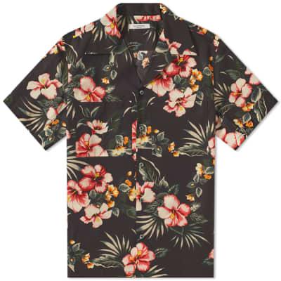 Valentino Floral Print Vacation Shirt