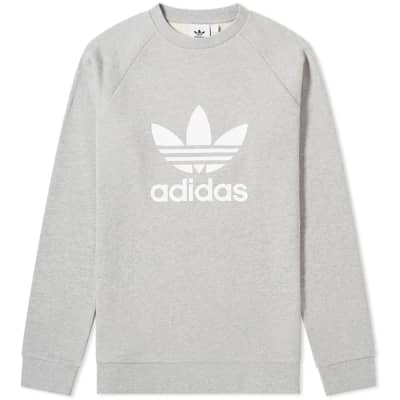 new style b22c1 35897 Adidas Superstar White   Black.  95. Adidas Trefoil Crew Sweat ...