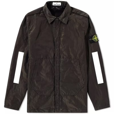 Stone Island Reflective Sleeve Metal GD Shirt Jacket