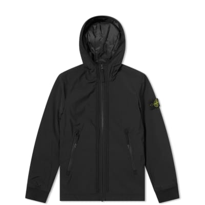 Stone Island Junior Primaloft Soft Shell Hooded Jacket