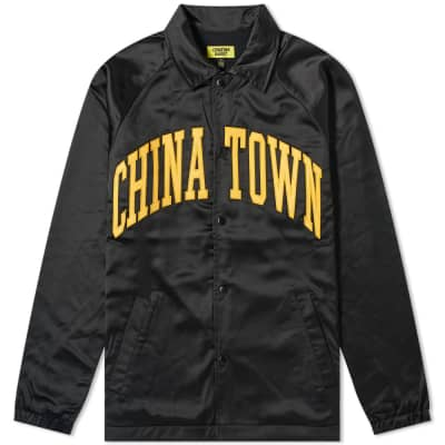 Chinatown Market Satin Coach Jacket