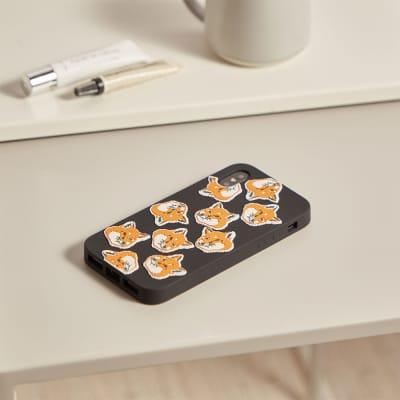 Maison Kitsuné 3D All-Over Fox Head iPhone 8 Case