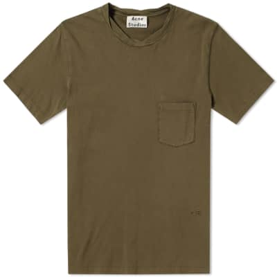 Acne Studios Judhe Washed Pocket Tee