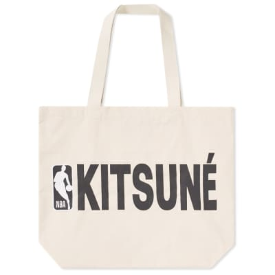 Maison Kitsuné x NBA Tote Bag