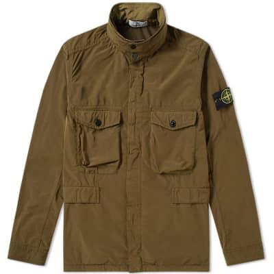 Stone Island David Tela Light TC Field Jacket