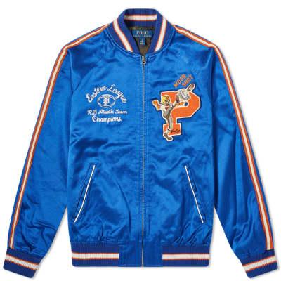 d22f303e88d7 Polo Ralph Lauren Washed Satin Souvenir Jacket ...
