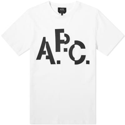 A.P.C. Decal Tee