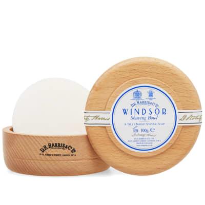 D.R. Harris & Co. Windsor Beech Shaving Soap & Bowl