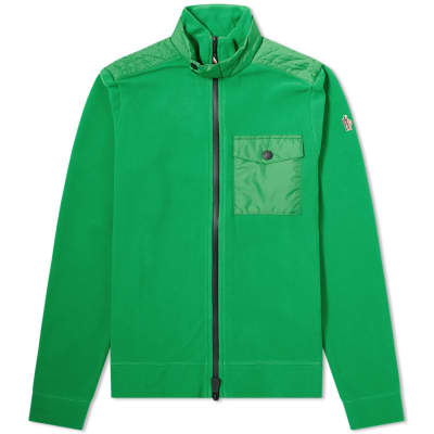 Moncler Grenoble Nylon Patch Zip Fleece