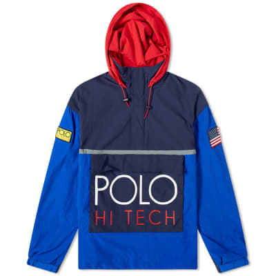 1653e71c1e0e Polo Ralph Lauren Hi-Tech Colour Block Pullover Jacket ...