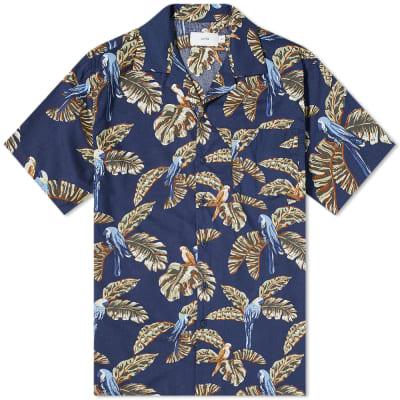 Onia Jungle Parrot Vacation Shirt