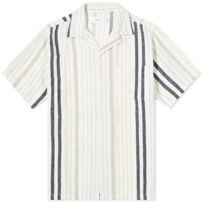 Onia Strand Stripe Vacation Shirt