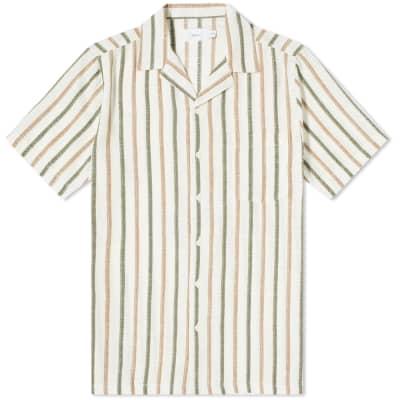 Onia Tribal Stripe Vacation Shirt