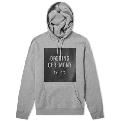 Opening Ceremony Box Logo Hoody