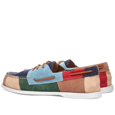 Sperry Authentic Original 2-Eye Patchwork