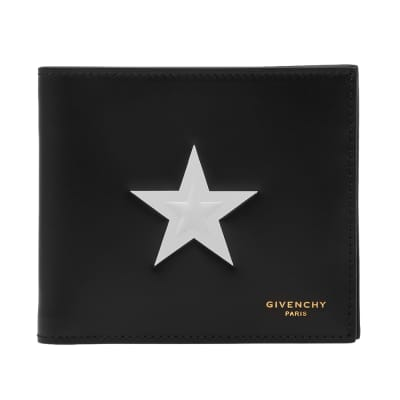 Givenchy Stars Leather Billfold Wallet