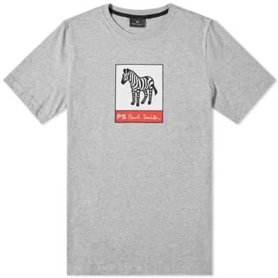 172a70c88c4 Paul Smith Zebra Block Logo Tee ...