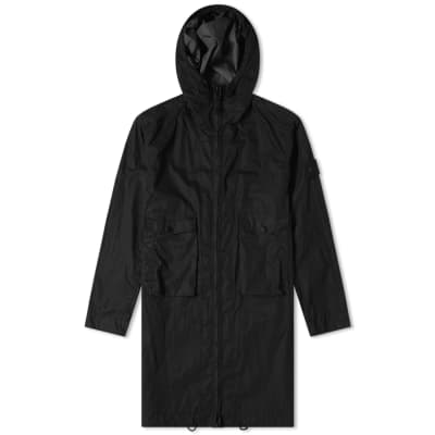 Stone Island Ghost Resin Cotton Parka ... 064a8c79ba05