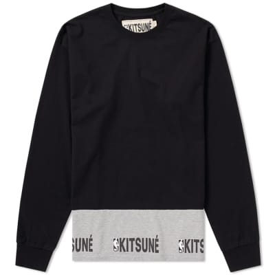 Maison Kitsuné x NBA Long Sleeve Tee