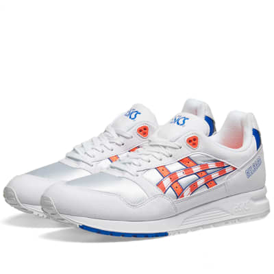 newest collection 5c188 a7f6e Asics Gel-Saga White   Flash Coral