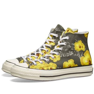 b4715101b8c2 Converse Chuck Taylor 1970s Hi  Floral  ...