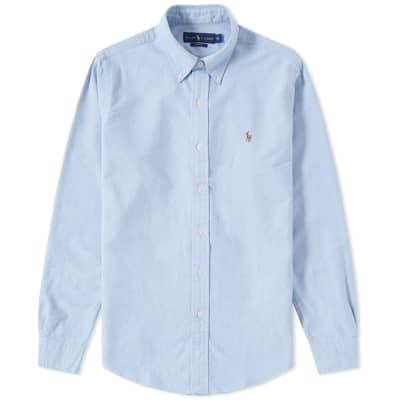 Polo Ralph Lauren Slim Fit Button Down Oxford Shirt ...