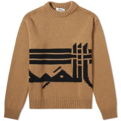 ADISH Lakiya Crew Knit