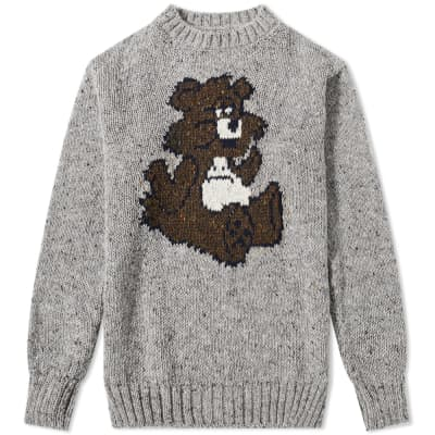 Howlin' Mohair Bear Crew Knit