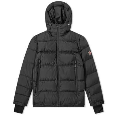 Moncler Grenoble Isorno Back Print Logo Down Jacket