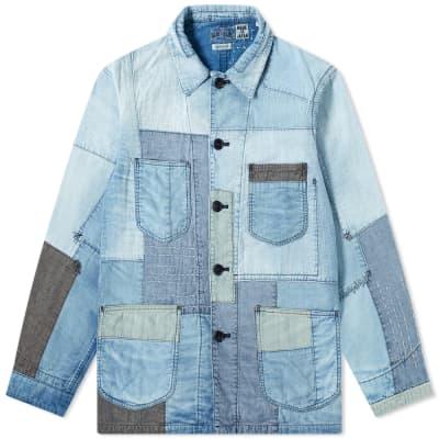"Blue Blue Japan ""Yuki Fubuki"" Coverall Jacket"