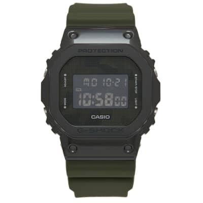 Casio G-Shock GM-5600 Metal Bezel Watch