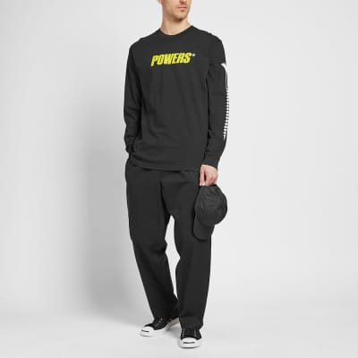 POWERS Long Sleeve Logo Tee
