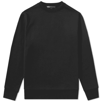 Y-3 Embroidered Back Cobra Crew Sweat