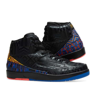 4088081d618a57 Air Jordan 2 Retro BHM Air Jordan 2 Retro BHM · Air Jordan 2 Retro BHM Black    Metallic Gold
