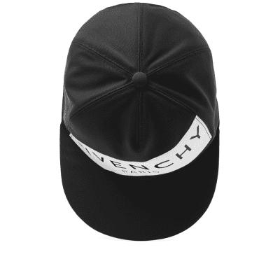 Givenchy Rubber Band Logo Cap