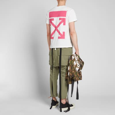 c433f3fd58 ... Off-White Bart Diagonals Glasses Skinny Tee