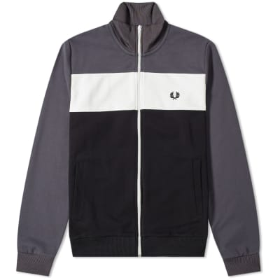dc2d272132e1 Fred Perry Authentic Colour Block Track Jacket ...