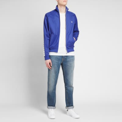 dc7a69709487 Fred Perry Authentic Taped Track Jacket Fred Perry Authentic Taped Track  Jacket