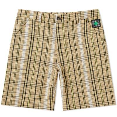 cb8a9c1b2db Kenzo Tailored Check Short ...