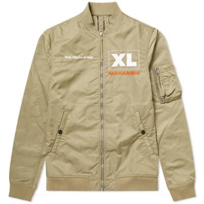 1a6a6b9a2e6 Maharishi x XL Recordings Flight Jacket ...