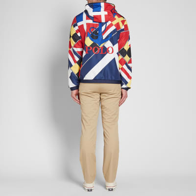 Polo Ralph Lauren CP93 Sailing Flag Print Windbreaker