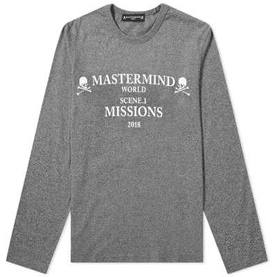 4d8a63cb5fb MASTERMIND WORLD Long Sleeve Missions Logo Tee ...