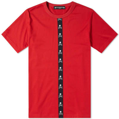 MASTERMIND WORLD Vertical Tape Tee